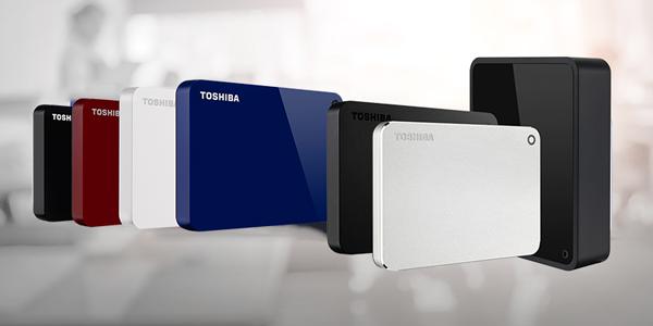 Toshiba External Hard Drives (HDD)