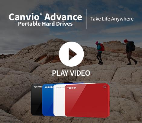 Toshiba Canvio Advance Portable Hard Drive